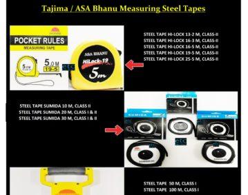 ETC Tajima Measuring Steel Tapes xlsx_001