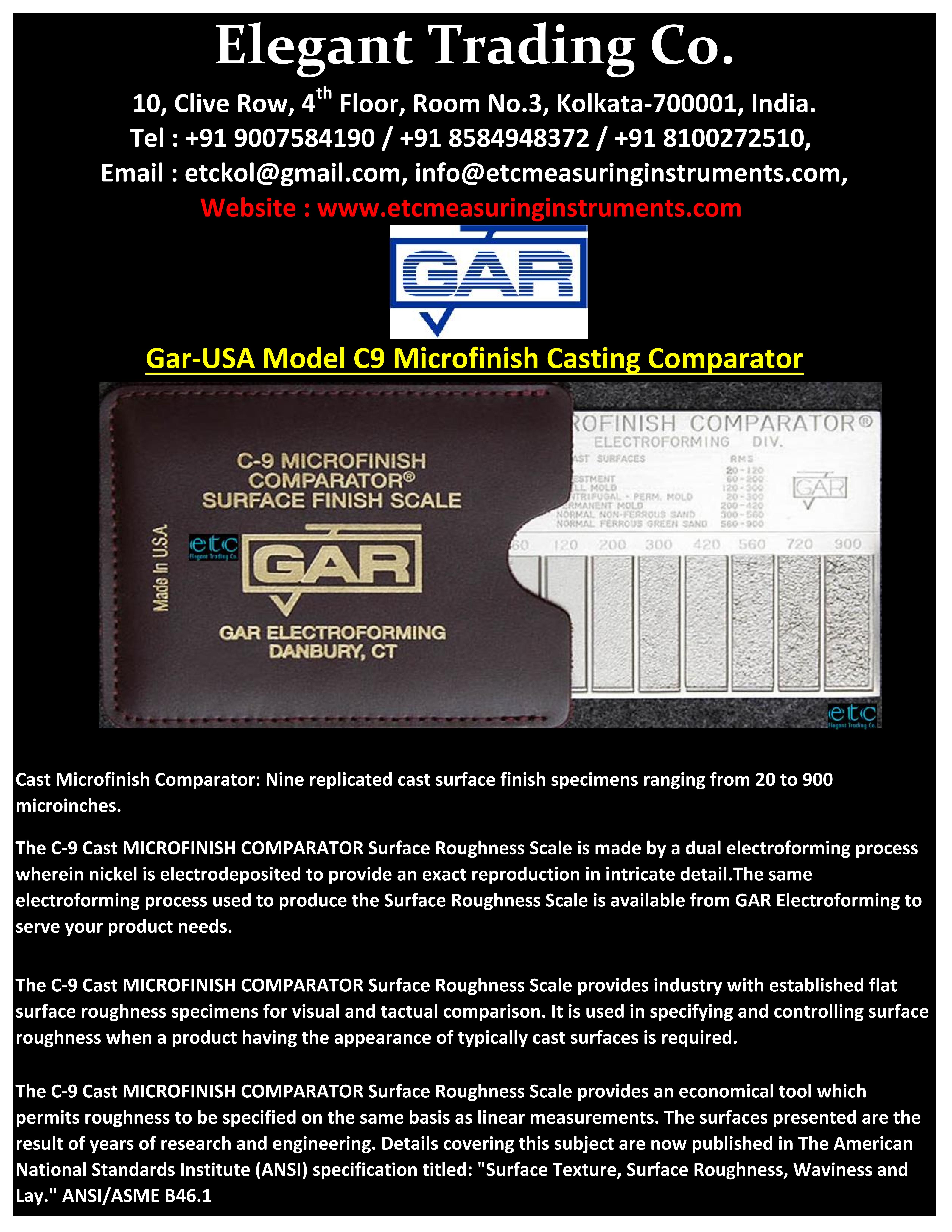 GAR Casting Roughness Comparator_001