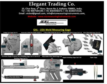 Welding And Pit Gauges Testing Inspection Amp Measuring